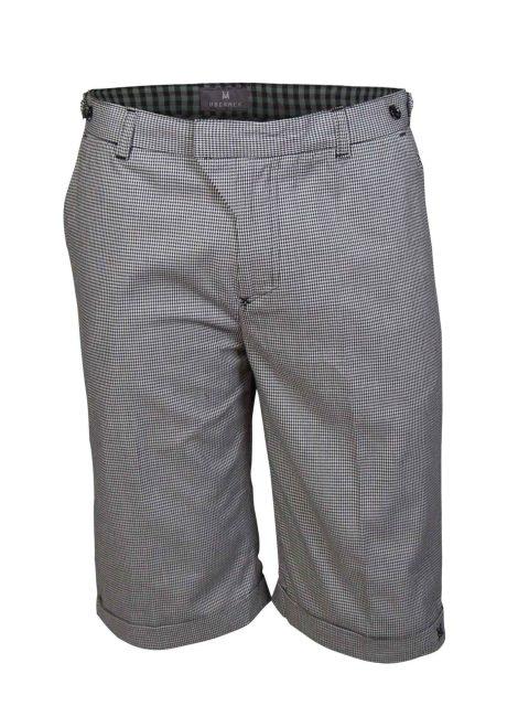 UBERMEN Black Knee Length Shorts - LONDON