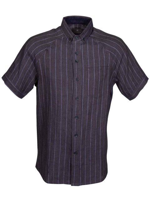 UBERMEN-Navy-Linen-Short-Sleeve-Shirt---ROLAND