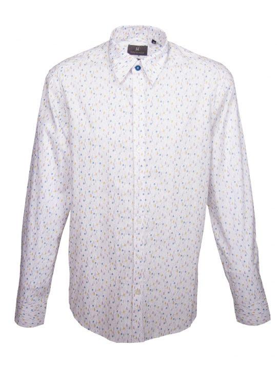 UBERMEN Printed Long Sleeve Shirt - MODDY WOODY