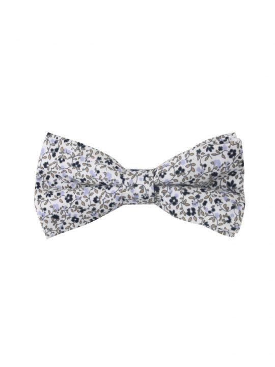 16-AUS-CUFFLINKS-BOWTIES-Black-Print-Floral-Bow-Tie-1